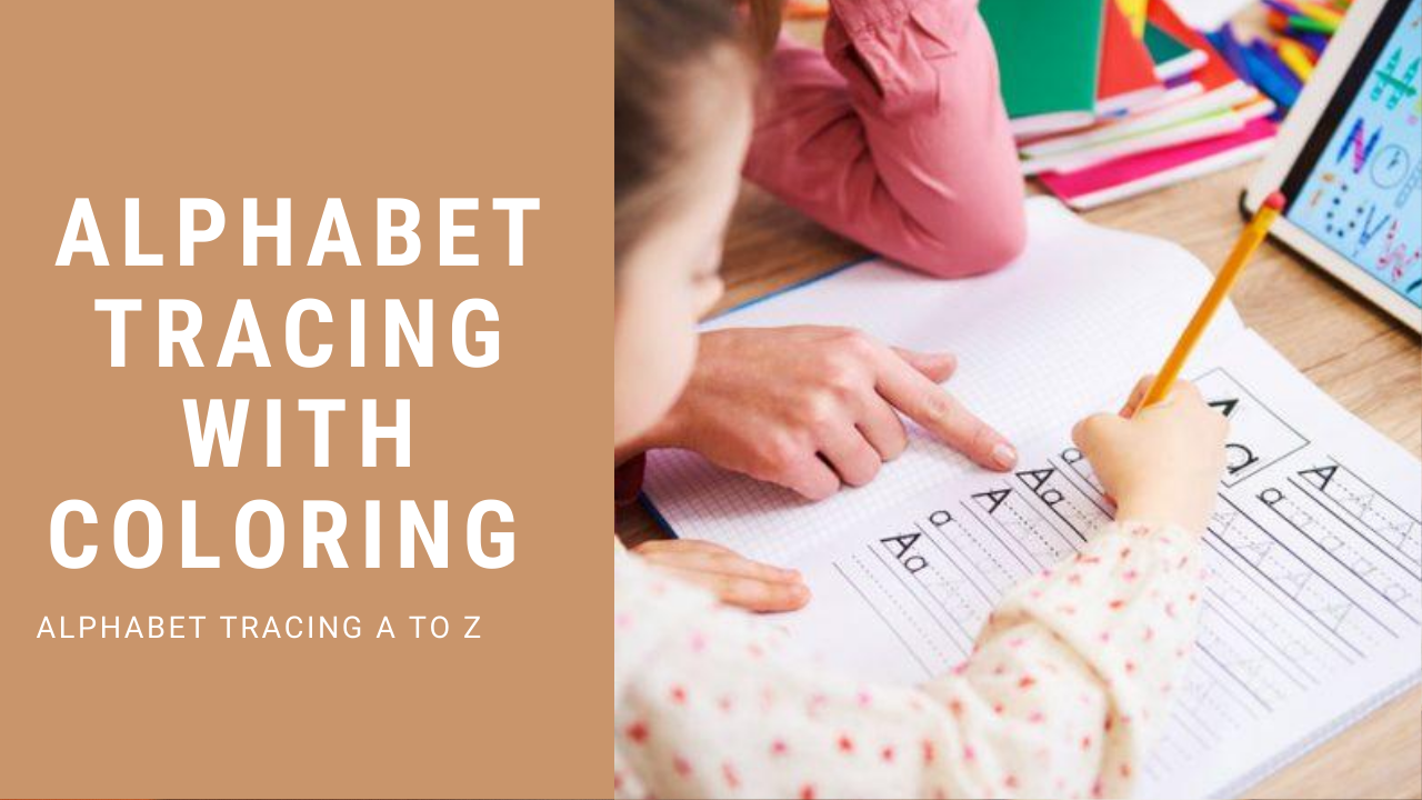 Alphabet tracing worksheets for preschool A to Z-156 pages