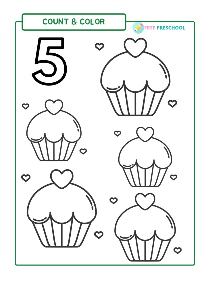 Coloring Page Number 5