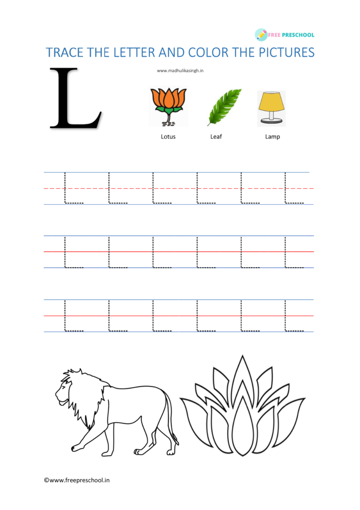 Letter tracing L