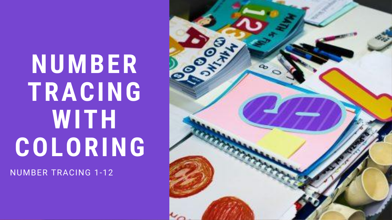 Printable Number Tracing Worksheets 1-12