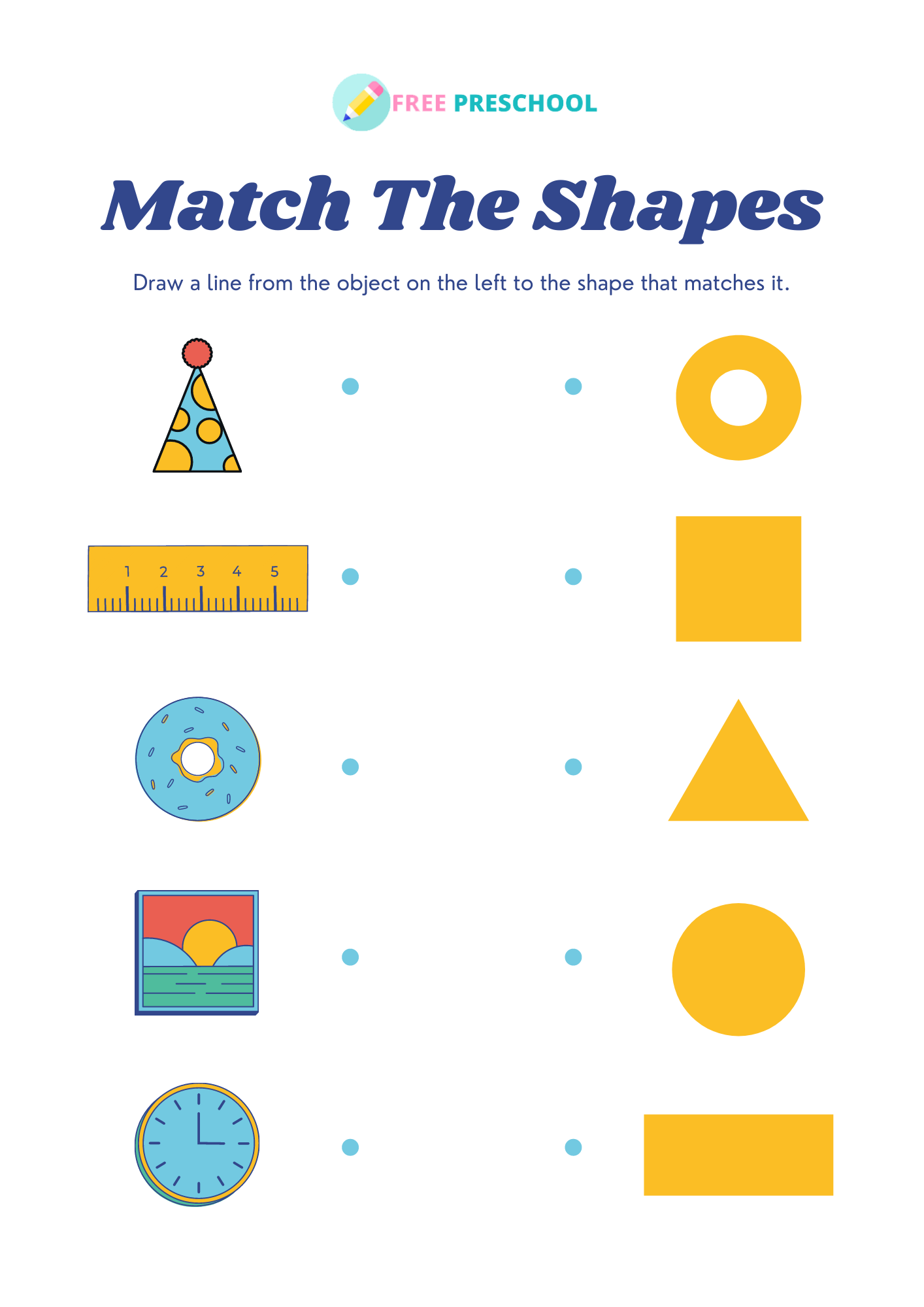 Activities for teaching shapes