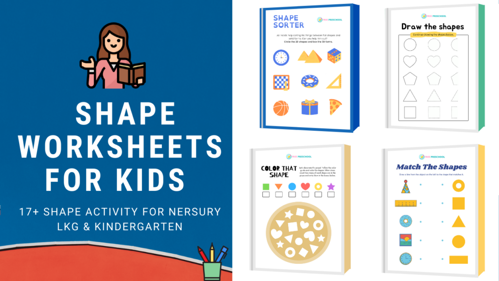 Shape Worksheets and Shape Activity
