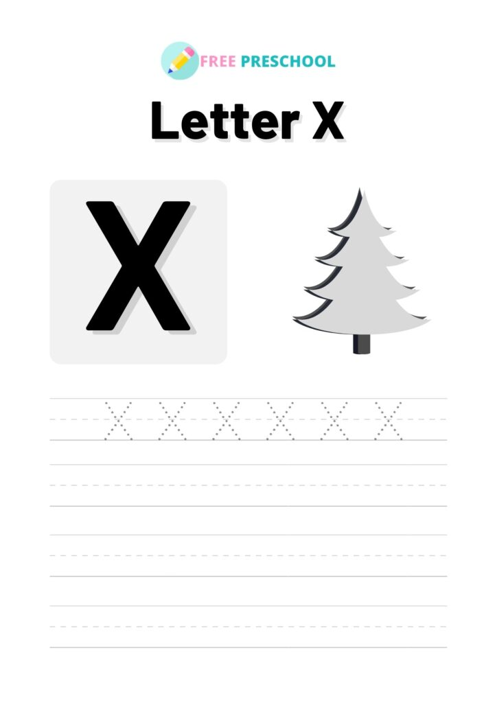 Letter Tracing X