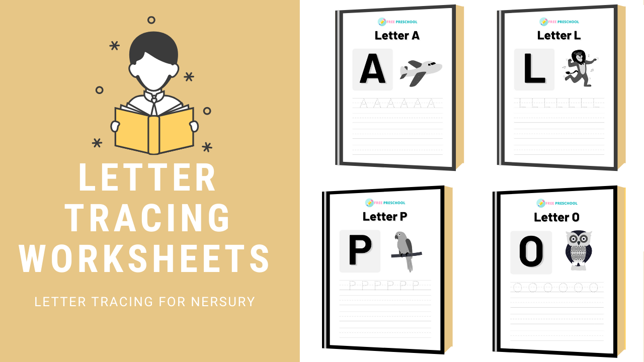 A to Z Capital Letter Tracing Worksheets PDF – 2020