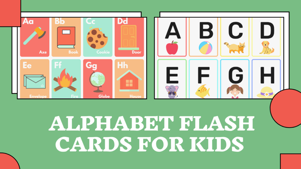 Alphabet Flash Cards for baby