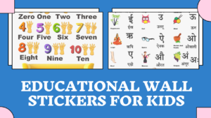 50+ Educational Wall Stickers for Kids Room India