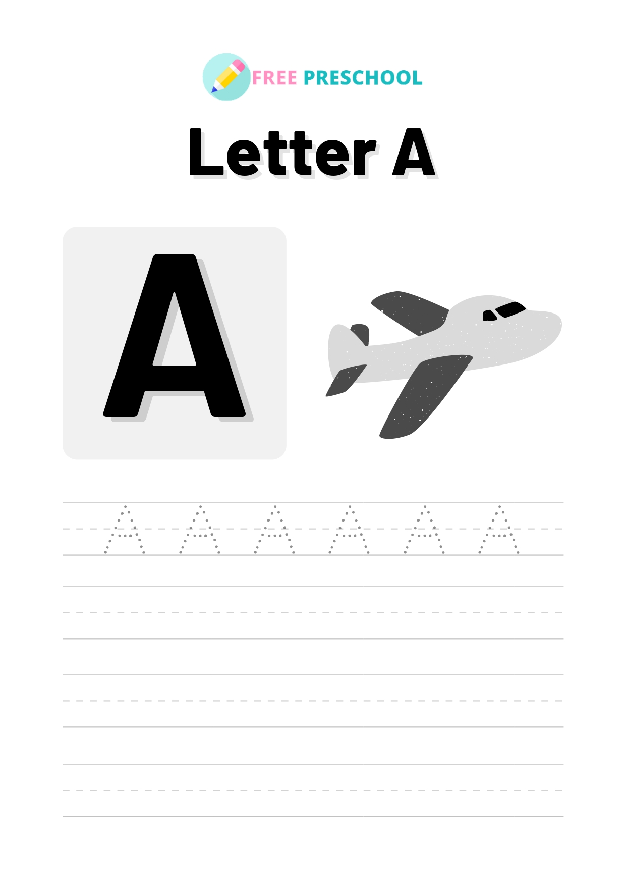 Capital Letter Tracing Worksheets Free- 26 Pages