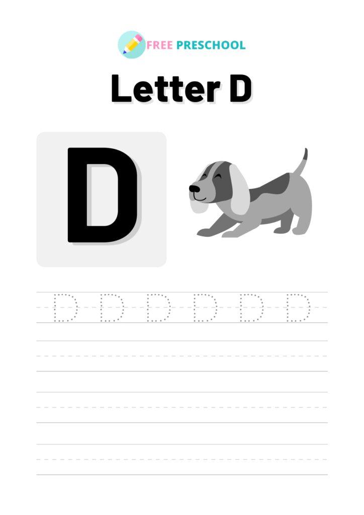 letter tracing worksheets pdf