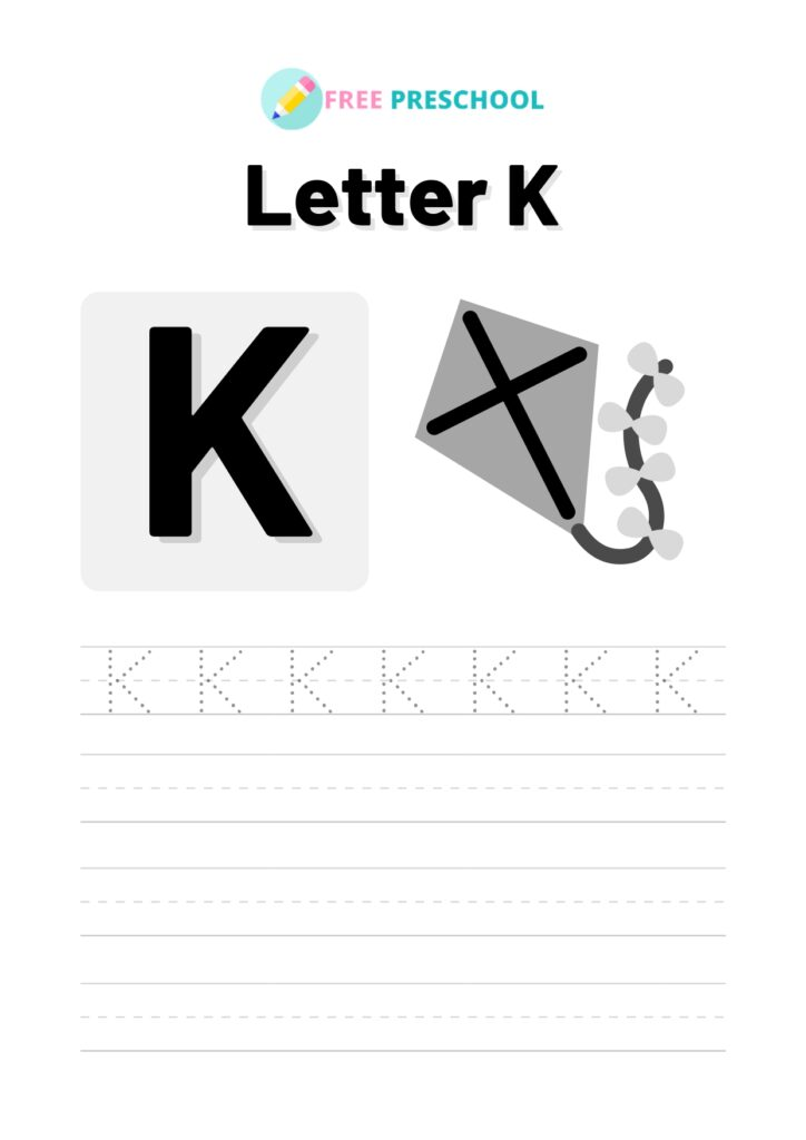 Letter Tracing K