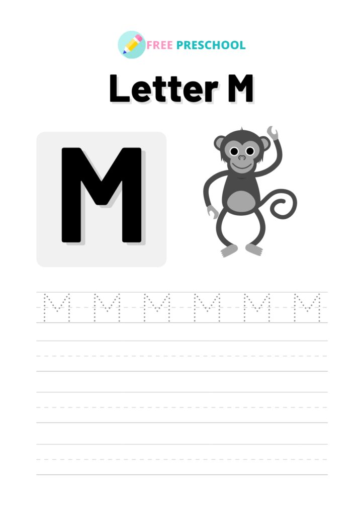 Letter Tracing M