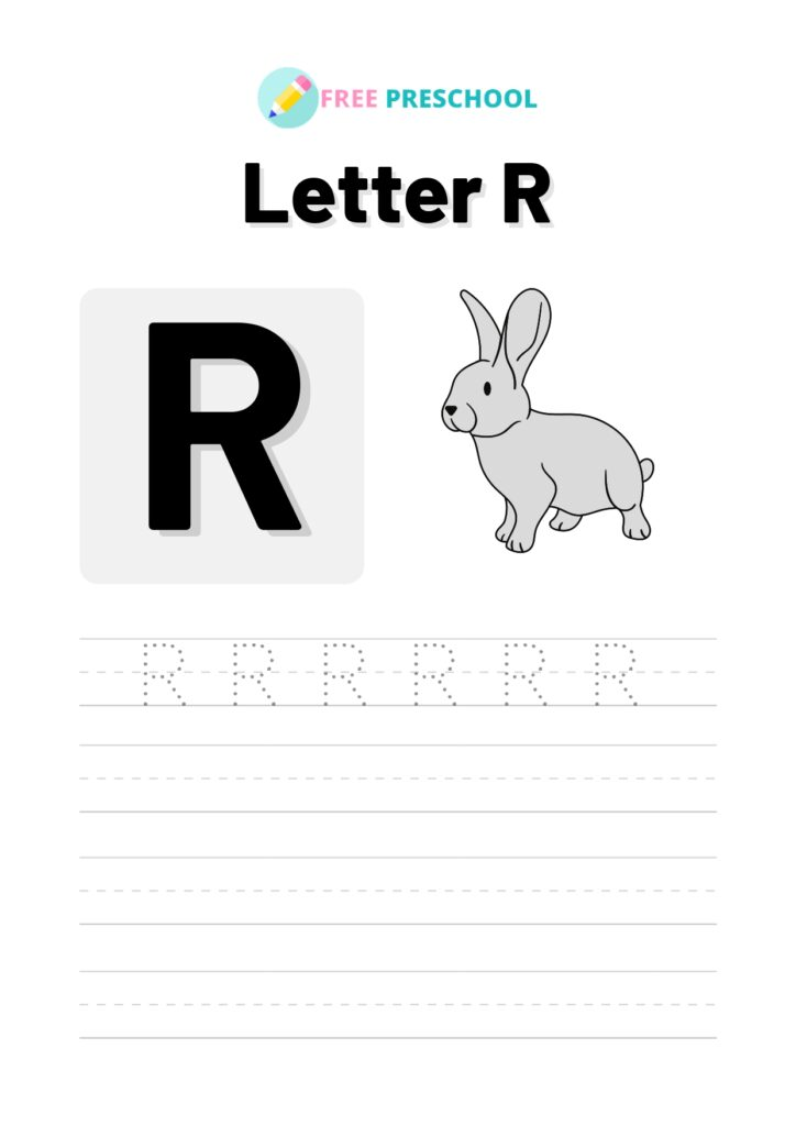 Letter Tracing R