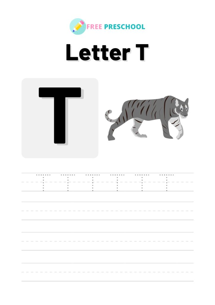 Letter Tracing T