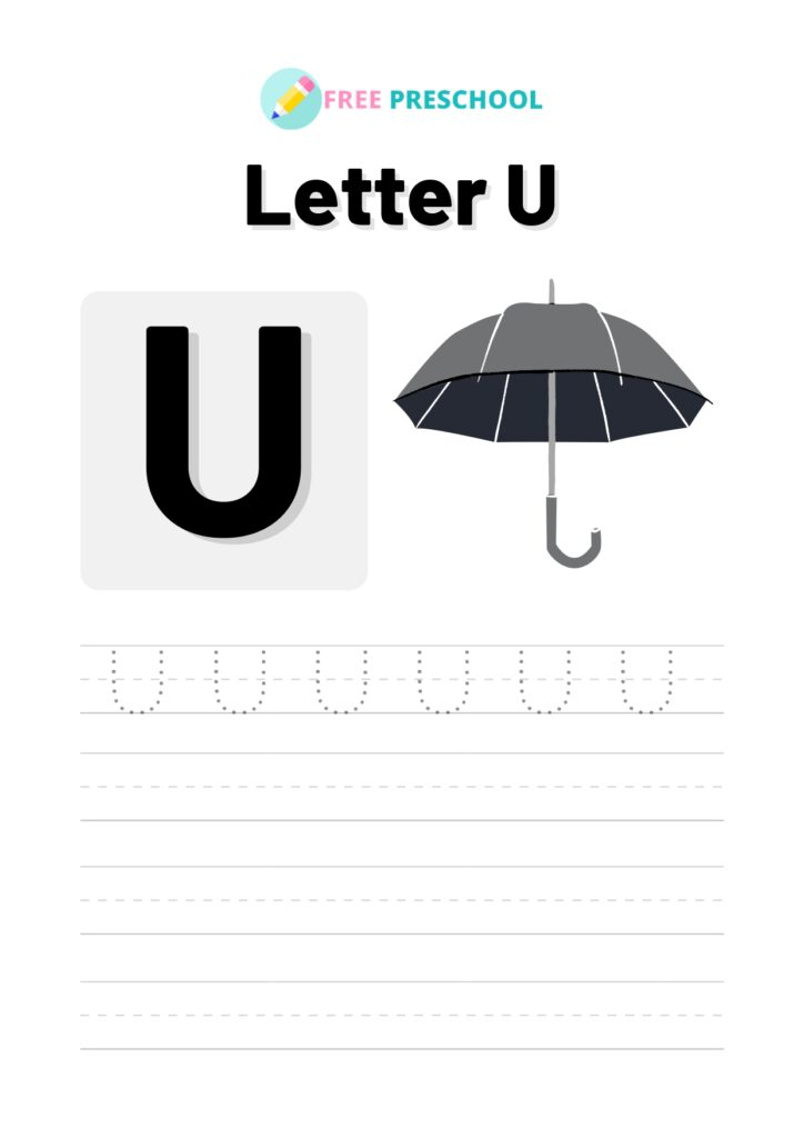 Letter Tracing U