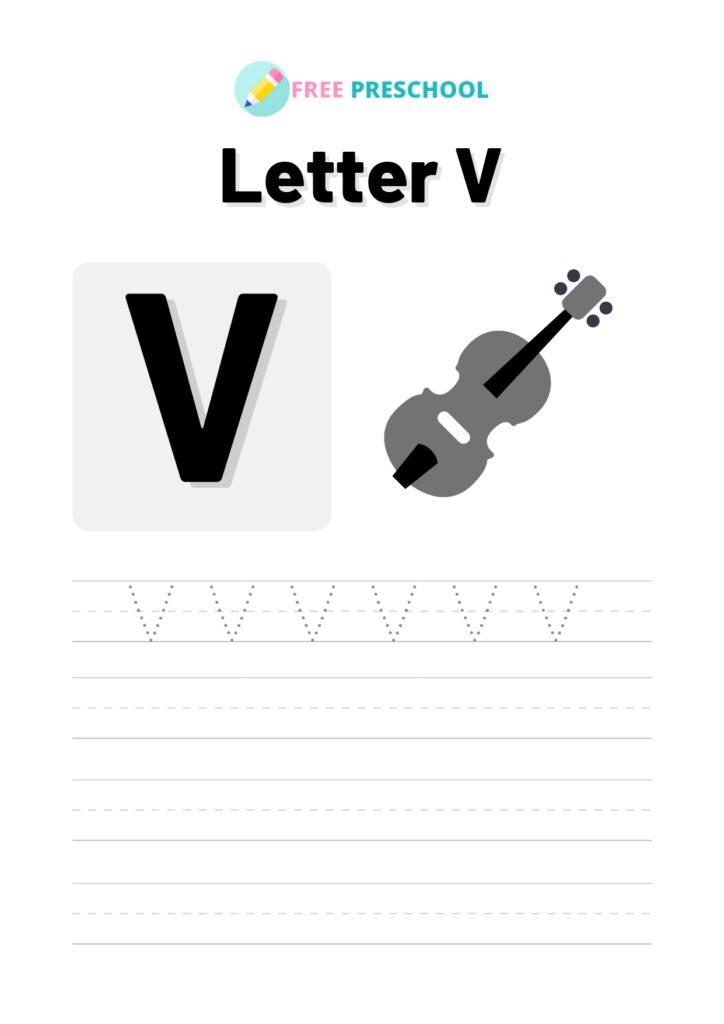Letter Tracing V