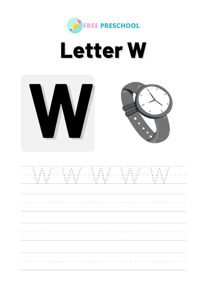 Letter Tracing W