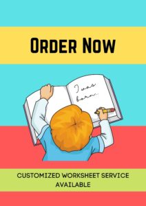 customized worksheets